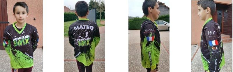 Nouveau maillot Denguin BMX 2017