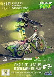 Denguin BMX affiche officielle de la finale du 3 juin 2017