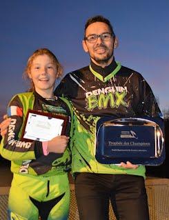 DENGUIN BMX Maya et Swann récompensés au Comité 64